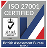 Care For is an ISO 27001 Certified Company
